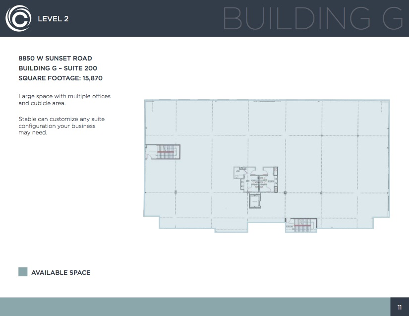 Building G, Level 2