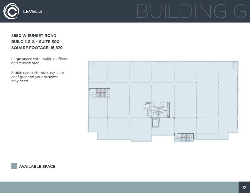 Building G, Level 3